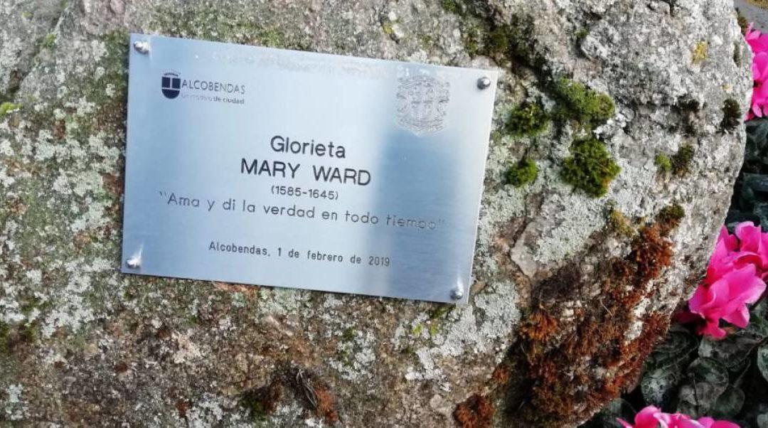 Reconocimiento a Mary Ward en Alcobendas