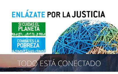Enlázate por la Justicia para combatir la pobreza