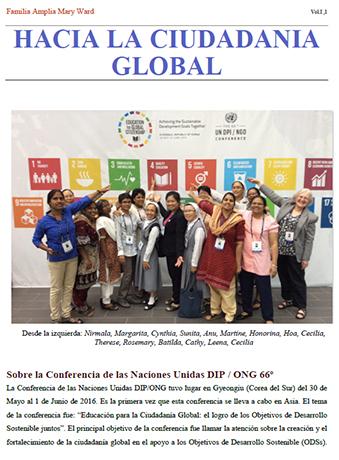 La Familia Mary Ward, hacia la Ciudadanía Global (I)