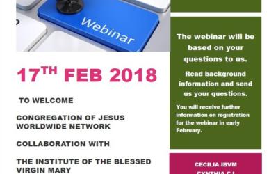 Encuentro online para conocer el trabajo del IBVM en Naciones Unidas