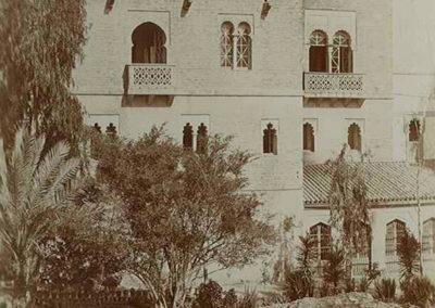 El colegio de Castilleja de la Cuesta en 1910