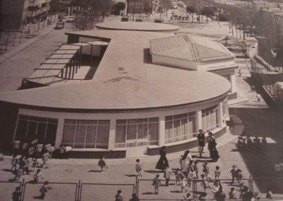 Inicios del colegio BVM Irlandesas de la Calle Cullera, en Madrid, en los años 70.