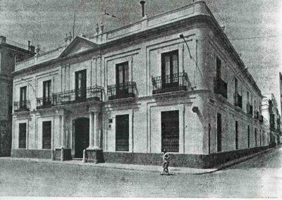 Primera casa del Instituto en Espana, en Cádiz