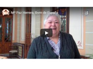 Mª Paz Herrera, Ibvm de España