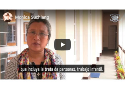 Monica Suchiang, Ibvm de India