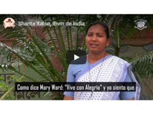 Shanta Xalso, Ibvm de India