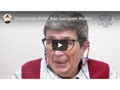 Ana Garrigues, Ibvm de España