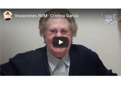 Cristina García, Ibvm de España