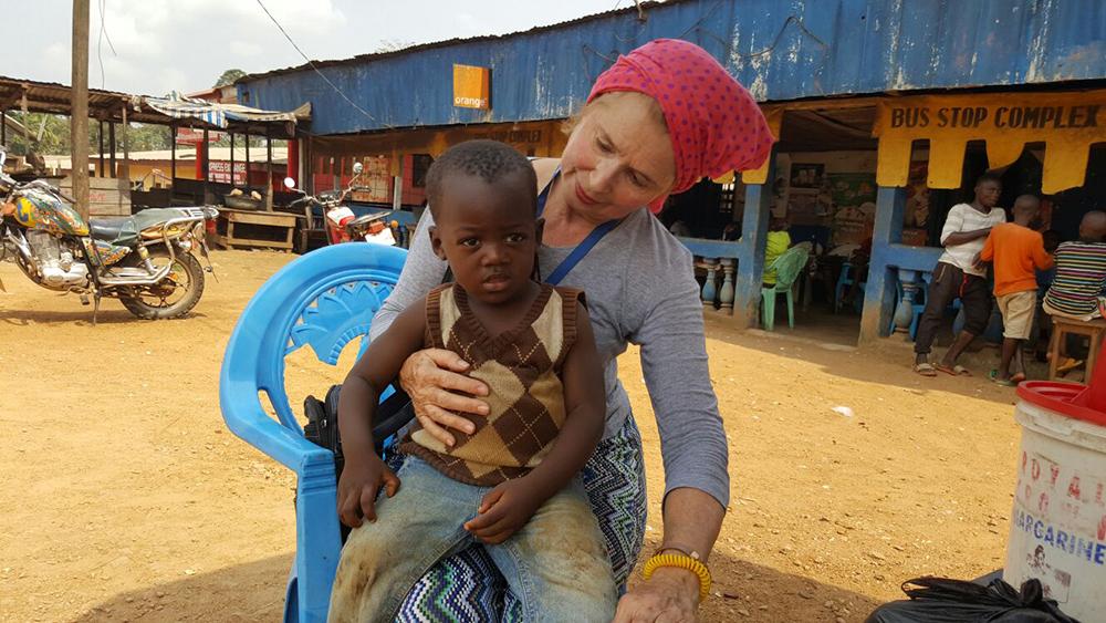 Mabel Ybáñez, voluntaria y Coordinadora para África en Manos Unidas