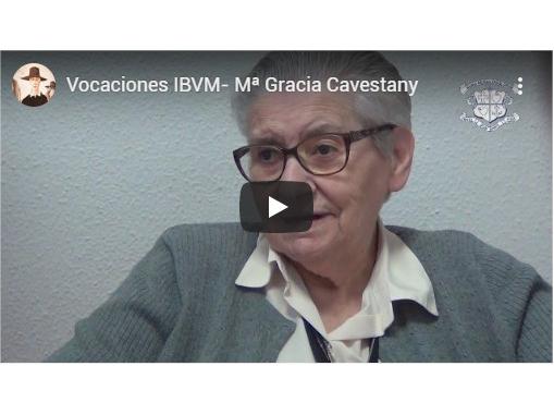 Mª Gracia Cavestany, Ibvm de España