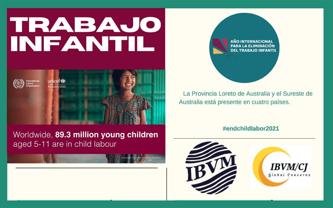 Acción del IBVM/CJ contra la explotación infantil
