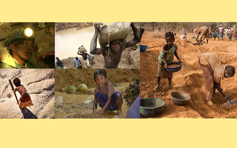 Contra el trabajo infantil en la minería